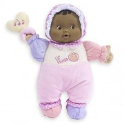 JC Toys Lil' Hugs Hispanic Pink Soft Body - Your First Baby Doll - Designed by Berenguer - Ages 0+