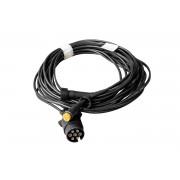 Cable ASPOCK 7 PIN 5 m para remolques ligeros