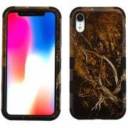 Funda Case Iphone XR Doble protector Uso Rudo Tuff - Cammo
