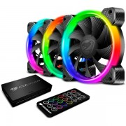FAN, COUGAR Vortex RGB HPB Cooling Kit, 120mm, Hydro-Dynamic Bearing (CG3MHPBKIT0001)