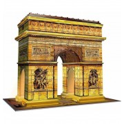 Puzzle 3D Arco del Triunfo Night Edition - Ravensburger