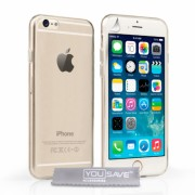 Husa YouSave Ultra Thin Gel pentru iPhone 6/6s Transparent