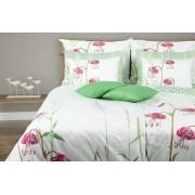 1 Glamonde Povlečení s květinovým vzorem Prato 70×90 cm 140×220 cm zipové