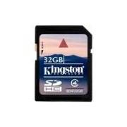 Cartao de memória SD 32Gb Kingston Class4