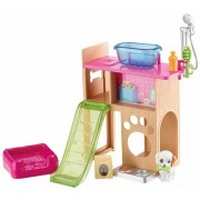Barbie Pet Station and Puppy Play Möbelset DVX50