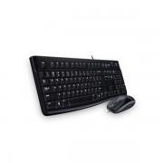 Logitech Billentyűzet/Egér Kit - MK120 (Vezetékes, USB, fekete)