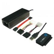 USB átalakító klt SATA IDE 1,2m fekete (990636)