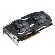 Видеокарта ASUS AMD Radeon RX 580 1360Mhz 4096Mb 7000Mhz 256 bit DVI HDMIx2 HDCP DUAL-RX580-O4G