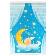 Tepih za dečiju sobu 100x140 cm / Laku noć meseče