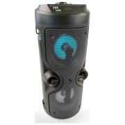 Super Bass hordozható 30W vezeték nélküli Bluetooth hangszóró fekete