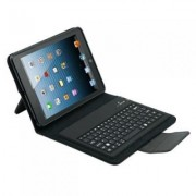 Husa de protectie din piele, cu tastatura bluetooth incorporata, compatibila P7500/P7510/P5100/N800