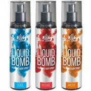 Liquid Bomb Perfumed Body Spray - Cool Intense Musk