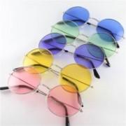 Elligator Round Sunglasses(Pink, Yellow, Violet, Green, Blue)