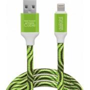 Cablu de date iPhone lightning Culoare alb verde rosu albastru Compatibil cu iPad Air Mini 2 Retina iPod Touch 5 Nano 7 Curent maxim 2A