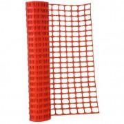 Rete per cantieri arancio rt.mt.50 gr.150 mq h.cm. 150