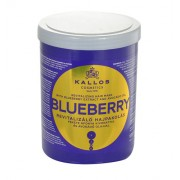 Kallos Blueberry Hair Mask 1000Ml Mask For Dried And Damaged Hair Per Donna (Cosmetic)