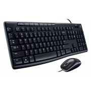 Logitech Mk200 Desktop Keyboard And Mouse Combo