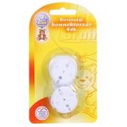 BabyBruin biztonsági konnektorzár, 4 db-os