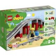 LEGO Duplo LEGO® DUPLO® 10872 Železnice můstek a koleje