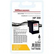 Office Depot Cartucho de tinta Office Depot compatible hp 350 negro cb335ee