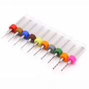 Set Mini Burghie pentru PCB 0.3 - 1.2 mm (10 buc)