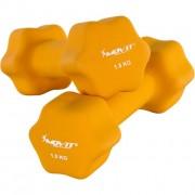 Neoprén bevonatú súlyzó 1,5 kg MOVIT, 2 db