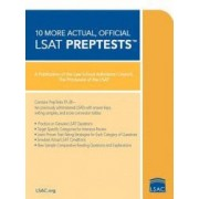 10 More Actual Official LSAT PrepTests