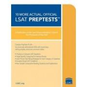 10 More Actual Official LSAT PrepTests