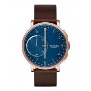 ユニセックス SKAGEN CONNECTED Hagen Hybrid Smartwatch スマートウォッチ ダークブルー