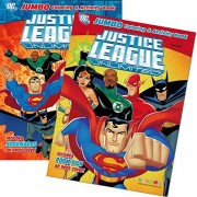 DC Comics® Justice League Coloring And Activity Book Set (Two 96 -page Books) Batman, Superman, Won