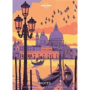 Reisdagboek Notebook with Illustrated Cover Europe | Lonely Planet