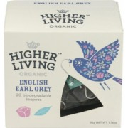 Ceai Premium English Earl Gray Bio 20plicuri Higher Living