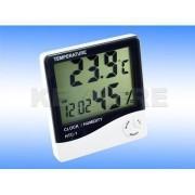 Termometru digital, higrometru, alarma ceas