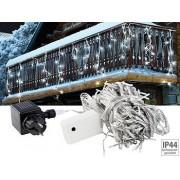 LED Lichterketten-Vorhang 'Snow' mit 180 LEDs, IP44, kaltweiss | Lichterkette