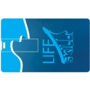 Printland Credit card Life Skills PC80767 8 GB Pen Drive(Multicolor)
