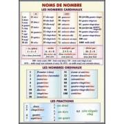 Noms de nombre. Les nombres cardinaux. Les nombres ordinaux. Le fractions/Adjectif. Nombre. Genre.