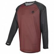 iXS - Flow Longsleeve Jersey - Maillot vélo taille L;S;XXL, rouge/noir;gris/noir