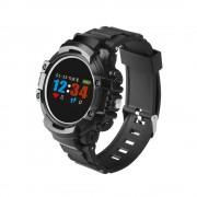 Ceas smartwatch OEM-F9, Notificari Apeluri/Mesaje/Facebook, Monitorizare Ritm Cardiac, Waterproof IP67, Pedometru