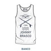 Johnny Brasco Мужская футболка из 100% хлопка с принтом Johnny Brasco 755923_7 белый (bianco)