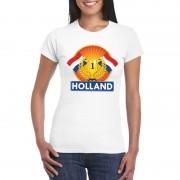 Shoppartners Wit Holland supporter kampioen shirt dames