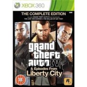 Grand Theft Auto IV The Complete Edition Xbox360
