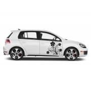 Sticker auto - Garoafa