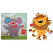 Pachet Label Label minipaturica puzzle Produsul 1 - elefant leu