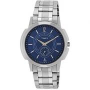 Timex Analog Blue Round Watch -TW000U309