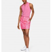 Under Armour Damespolo UA Zinger Zip zonder mouwen - Womens - Pink - Grootte: Large