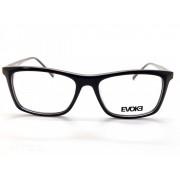 Óculos de Grau Evoke Outline D01 Marron Fosco 54