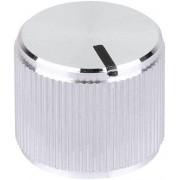 Buton metalic de înaltă calitate Mentor, Ø ax 6 mm, tip 5556.6612