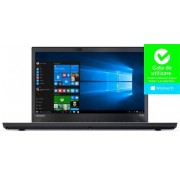 "Laptop Lenovo ThinkPad T470 (Procesor Intel® Core™ i7-7500U (4M Cache, 3.50 GHz), Kaby Lake, 14"" FHD, 8GB, 256GB SSD , Intel® HD Graphics 620, FPR, Win10 Pro, Negru)"