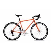 Csepel Rapid férfi országúti kerékpár 54 cm Narancs