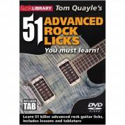 Roadrock International Lick Library: 51 Advanced Rock Licks You Must Learn DVD